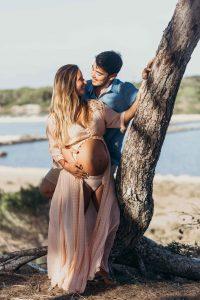 fotografía de embarazo en ibiza