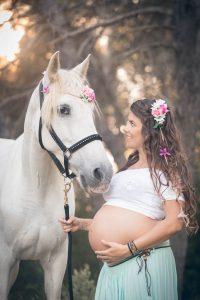 caballo embarazada